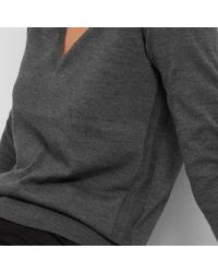 Everlane | The Luxe Wool V-neck | Lyst