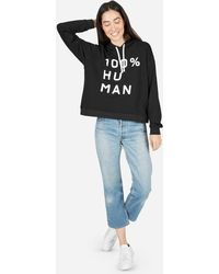 Everlane - The 100% Human French Terry Hoodie In Large Print - Lyst
