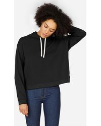 Everlane - The Classic French Terry Square Hoodie - Lyst