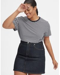Everlane - The Denim Skirt - Lyst