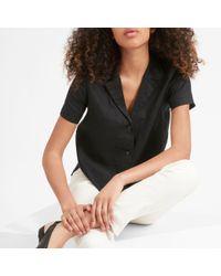 Everlane The Linen Notch Short-sleeve Shirt