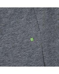 BOSS Green Lightweight Cotton Tee - Gray