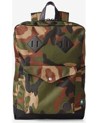 Express - Enter Camouflage Sports Backpack - Lyst