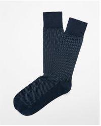 Express - Pindot Dress Socks - Lyst
