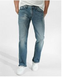 Express - Classic Boot Thick Stitch Stretch Jeans, Men's Size:w28 L28 - Lyst