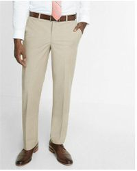 Express - Men's Relaxed Chambray Stretch Dress Pant - Lyst