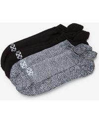 Express - Two Pack Athletic Ankle Socks - Lyst