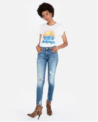 Express - One Eleven In The Bahamas Tee - Lyst