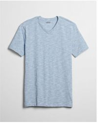 Express - Space Dyed Flex Stretch V-neck Tee - Lyst