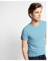 Express - Ig & Tall Slim Stretch Crew Neck Tee - Lyst