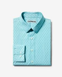 Express - Extra Slim Fit Diamond Dress Shirt - Lyst