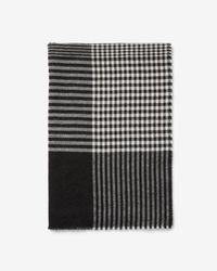 Express - Plaid Woven Scarf - Lyst