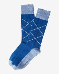 Express   Argyle Dress Socks   Lyst