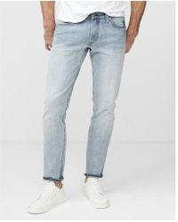 Express - Skinny Medium Wash Tough Stretch+ Jeans, Men's Size:w28 L28 - Lyst