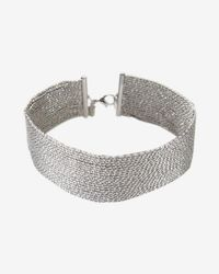 Express   Sparkle Chain Choker Necklace   Lyst