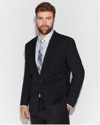 Express - Extra Slim Performance Stretch Wool-blend Check Suit Jacket - Lyst