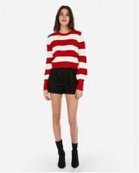 Express - Olivia Culpo Striped Sweater - Lyst