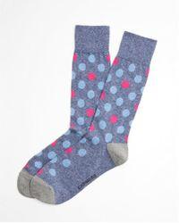 Express | Polka Dot Print Dress Socks | Lyst