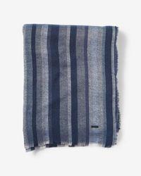 Express - Multicolor Stripe Scarf - Lyst