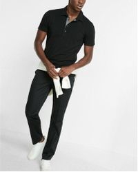 Express - Moisture-wicking Stretch Polo - Lyst