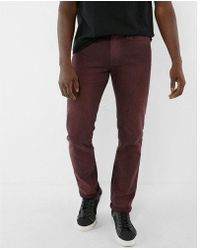 Express | Slim Overdyed Stretch Jeans | Lyst