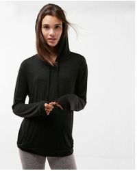 Express - Drawstring Pullover Hoodie - Lyst