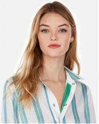 Express - D Reversible Shirt - Lyst
