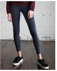 Express - High Waisted Sexy Stretch Washed Leggings - Lyst