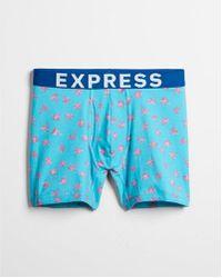 Express - Palm Tree Print Boxer Briefs - Lyst