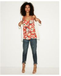 Express - Reversible Floral Print Barcelona Cami - Lyst