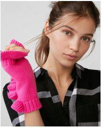 Express - Ruffle Arm Warmer - Lyst