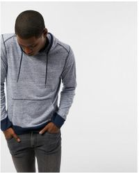 Express - Ig & Tall Heathered Long Sleeve Hoodie - Lyst