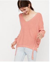 Express - Two Side Tunnel Tunic Sweater - Lyst