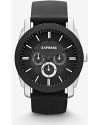 Express Rivington Multi-function Watch - Black