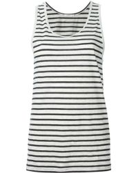 6397 Striped Vest - Lyst