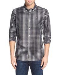 Victorinox - 'bismark' Plaid Twill Sport Shirt - Lyst