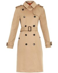 Gucci Classic Double-faced Gabardine Trench Coat - Lyst