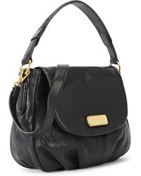 Marc By Marc Jacobs - New Q Lil Ukita Black Leather Shoulder Bag - Lyst
