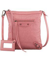 Balenciaga Classic Flat Crossbody Bag - Lyst