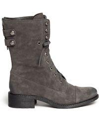 Sam Edelman Malone Suede Short Boots - Lyst