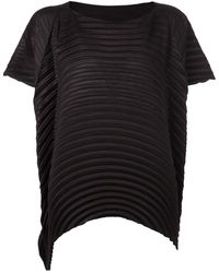Issey Miyake Pleated Top - Lyst