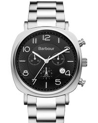 Barbour - 'heritage' Chronograph Watch - Lyst
