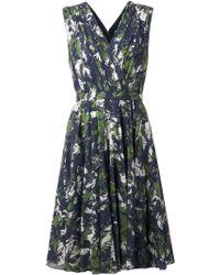 Jason Wu Printed Flared Dress - Lyst
