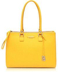 Francesco Biasia - Kilburn Ambra Leather Handbag - Lyst