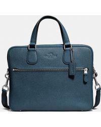 COACH   Hudson 5 Bag In Crossgrain Leather   Lyst