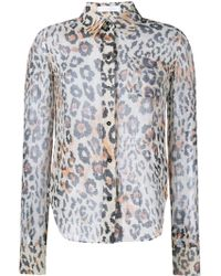 Chloé   Leopard Print Shirt   Lyst