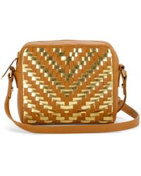 Milly Dylan Top Zip Crossbody - Lyst