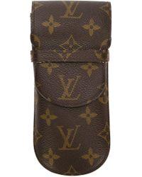 Louis Vuitton | Monogram Print Glasses Case | Lyst