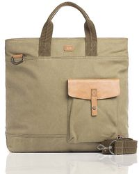 Tommy Hilfiger Canvas Legacy Tote - Lyst