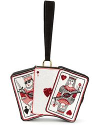 Olympia Le-Tan Playing Cards Clutch - Lyst